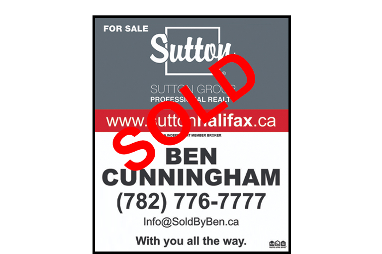 Sold Sign, List your home with Ben